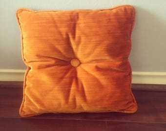 Rust colored pillow