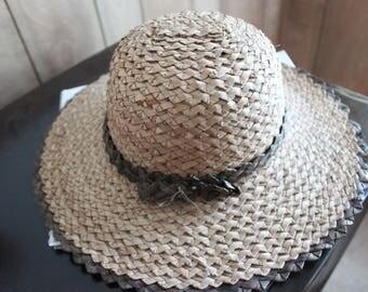 Zambian Hat/African Straw Hat