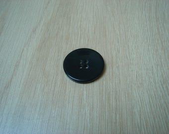 big black bow button plastic