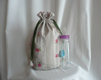Clutch women bag romantic - large