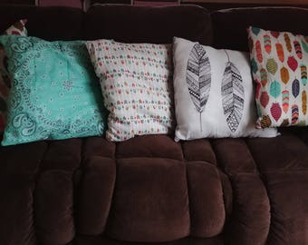 Pillows made with love