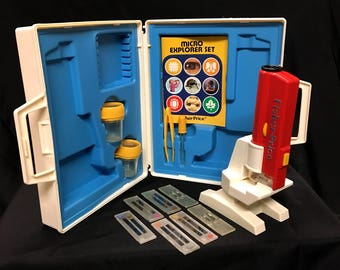Vintage Toy Fisher Price Micro Explorer Set