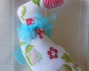 BUNNY SOFT FLORAL FABRIC