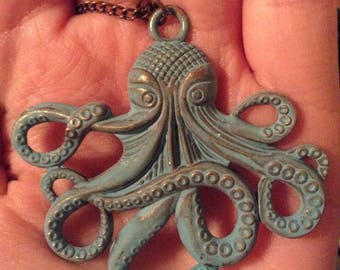 Aquatic Octopus Necklace
