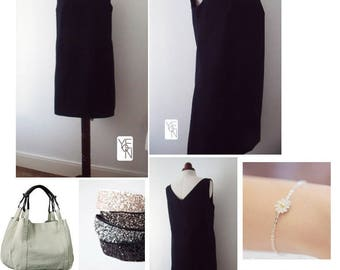 Minimal and Classic little black dress
