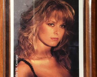 Cathy St. George Playboy Autographed Card
