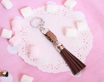 Doors-keys - chocolate cake and cream satin braid