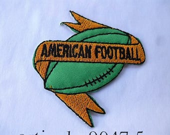 american football 9047.5 applique patch for customization sewing patch iron or sew vintage