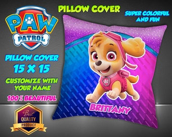 Paw Patrol Pillow Etsy