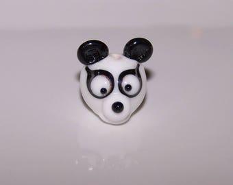 Lampwork Glass Panda