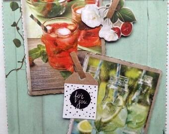 "Card ""Southern kitchen"""