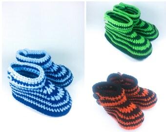 Crochet Booties, slippers