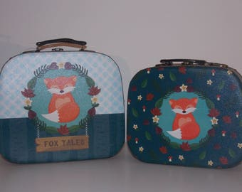 Set of 2 bags of decoration - Fox