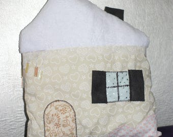 Snow House pillow