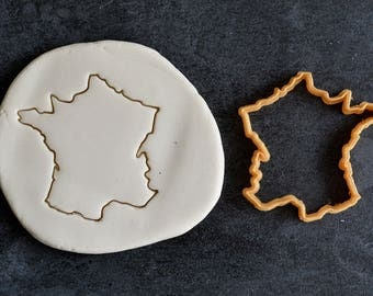 France - country cookie cutter: France