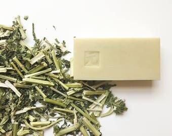Motherwort Herb Whitening facial soap 益母草美白洗面皂
