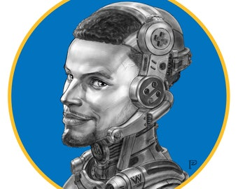 Pzhouart_Sci_Fi_Stephen_Curry