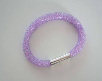"""Bracelet style """"Stardust"""" - Purple"""