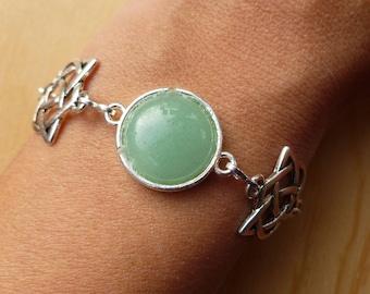 """""""Elvish"""" minimalist bracelet"""
