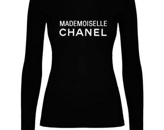 T-shirt sleeve long Inspiremademoiselle CHANEL