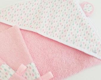 Hooded towel Washcloths DROPLET