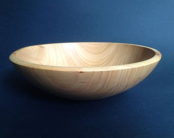 Cherry Wood Bowl- hand turned cherry bowl