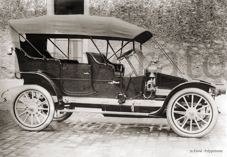 automobile voiture ancienne 1900 identifier retirage. Black Bedroom Furniture Sets. Home Design Ideas