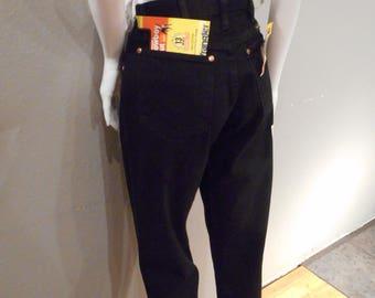 Deadstock Black Wrangler Jeans/waist 29/, boyfriend jeans, straight leg