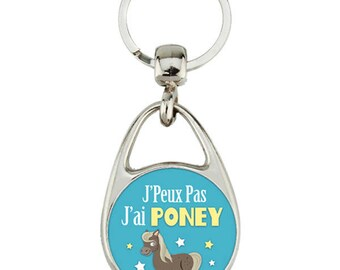 """Keyring """"I can't I pony"""""""