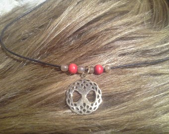 Nature jewelry: Celtic tree of life brass pendant!