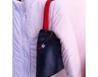Handbag with beautiful handles by BAGART jean bag jean