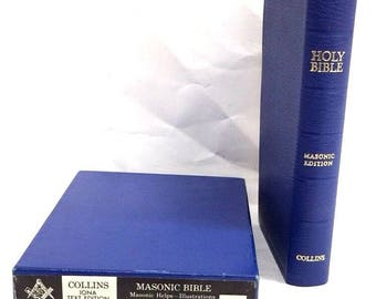 Masonic Bible Illustrated 1951 King James Version (Bible Kjv) (Leather Bound)