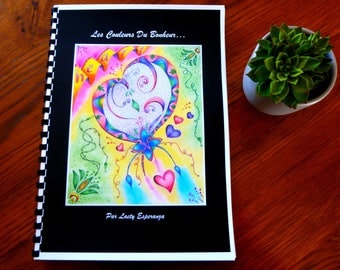 Coloring book: the colors of happiness