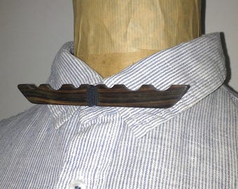 Bow tie, Macassar ebony wood