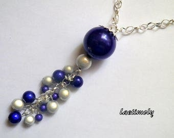 Necklace fantasy magical Midnight Blue