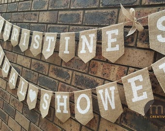 Custom Personalised Banner, Birthday Banner, First Birthday Banner, Burlap banner, Burlap birthday banner, Hessian Bunting, Rustic banner