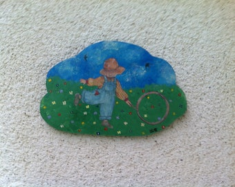 Picture(Board) wood cuts cloud decoration child's room