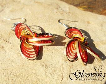 Earrings original bamboo