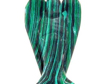 Malachite 5cm Angel figurine