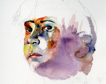 Young Boy study (Digital Print)