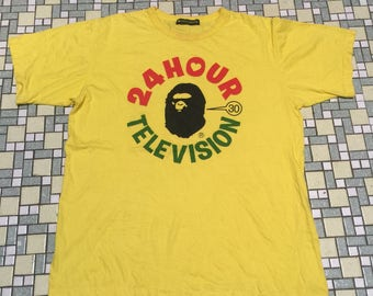 A Bathing Ape (Bape) x 24 Hour Television T-Shirt