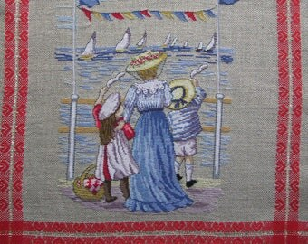 """Embroidery """"breath of wind"""" counted cross stitch"""