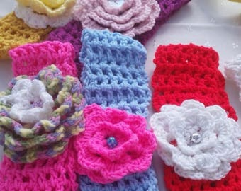 Crocheted  Headbands- buy 2 get 1 free!