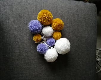 Garland PomPoms wool
