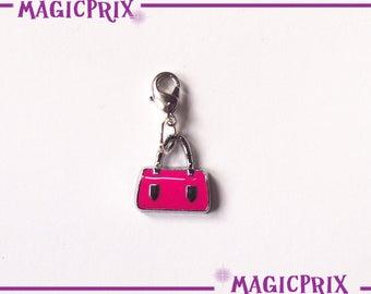 CHARM bag CHARM Pink Silver m009