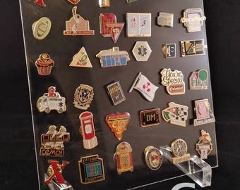 Plexi for badges collection display