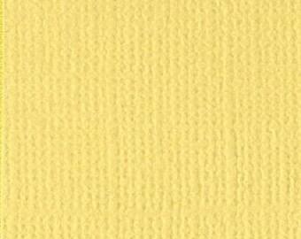 Bazzill textured canvas 30 x 30 cm - Ref 11110426 Lemonade scrapbooking paper