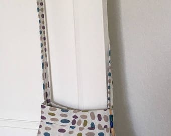 Large multicolored purse from the boho summer