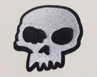 Half Skull//FREE US SHIPPING