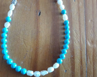 Turquoise and white perfect
